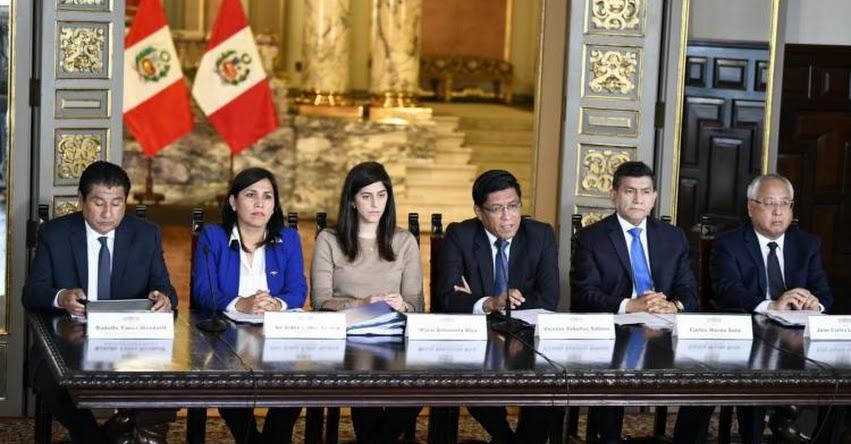 Gobierno presentó el presupuesto público para el año fiscal 2020