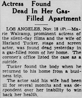 Marie Walcamp Suicide