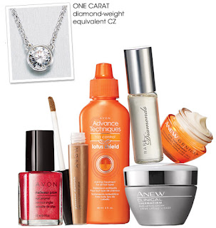 avon catalog 7 piece dazzling deal