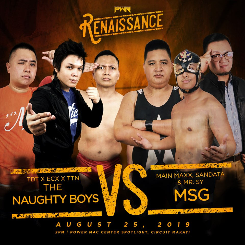 PWR Renaissance Predictions: Naughty Boys vs. MSG