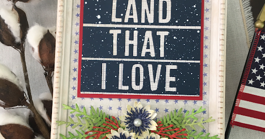 Tim Holtz 4th of July Patriotic Decor