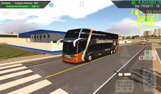 Aplikasi Heavy Bus Simulator