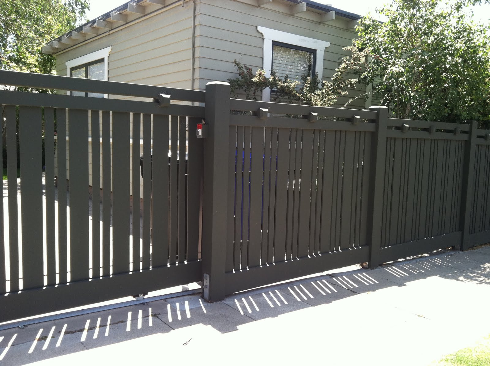 Designer Fence In Mission Hills Landscape Sage Outdoor Designs