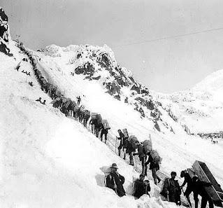 Chilcoot Pass prospectors