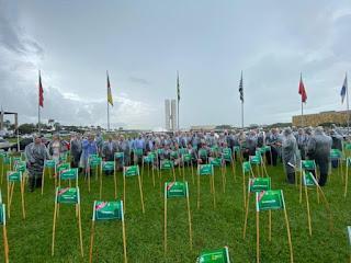 Famup participa de mobilização contra extinção de municípios