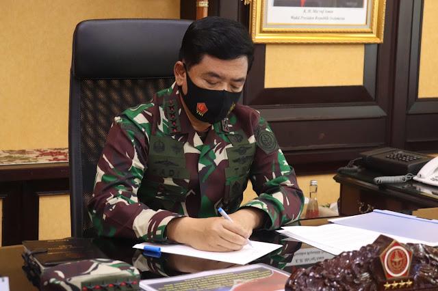 Panglima TNI : Pandemik Covid-19 Harus Ditangani Dengan Extra Ordinary