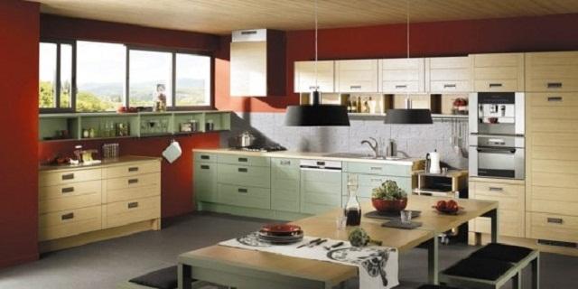 Chiếu sáng và thông gió phòng bếp
