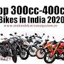 Top 300cc-400cc Bikes in India 2020 : Best 300cc-400cc Bikes, Details & Price