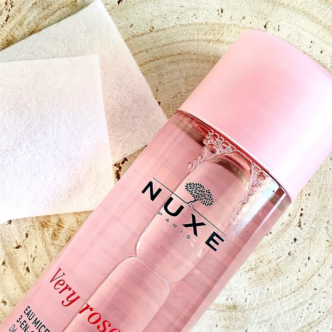 Nuxe Very Rose Łagodząca woda micelarna 3w1