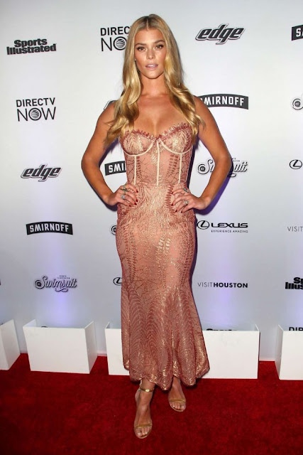 Nina Agdal – Sports Illustrated Swimsuit Edition Launch Event