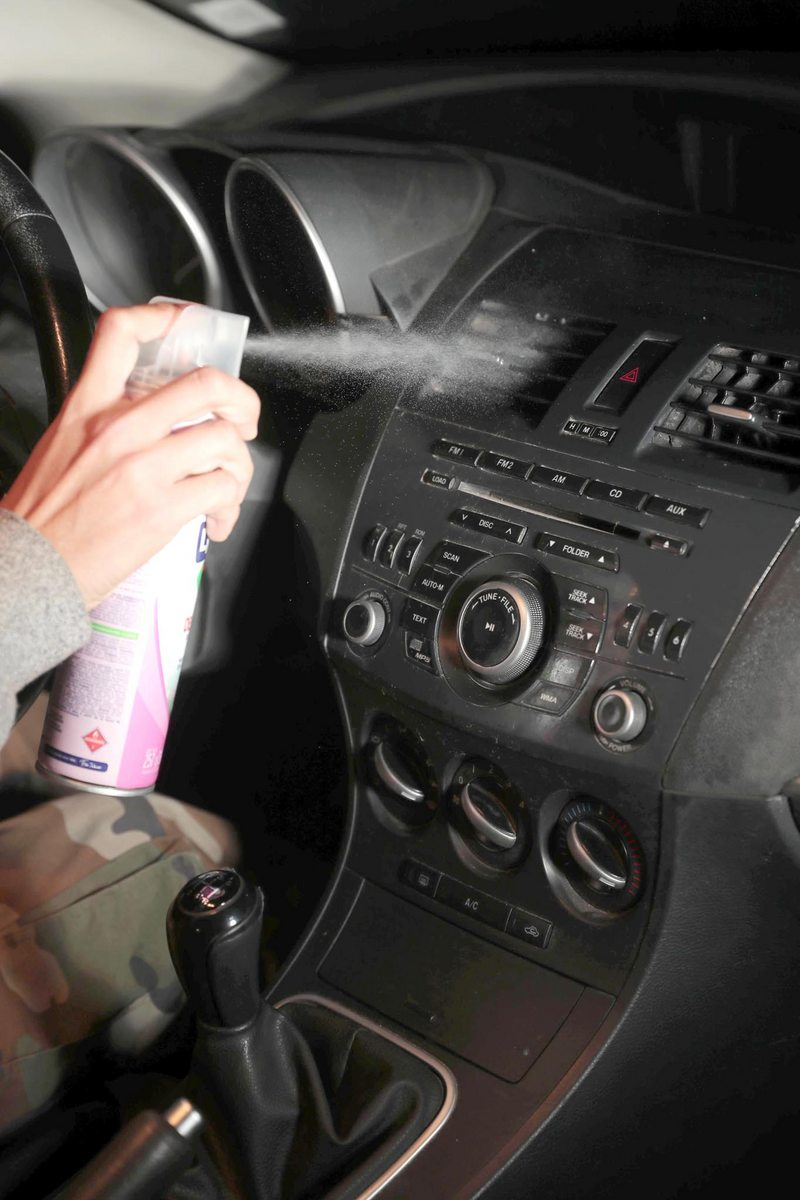 Truco para desinfectar la calefacción del auto
