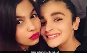 Alia Bhatt half-sister shaheen bhatt