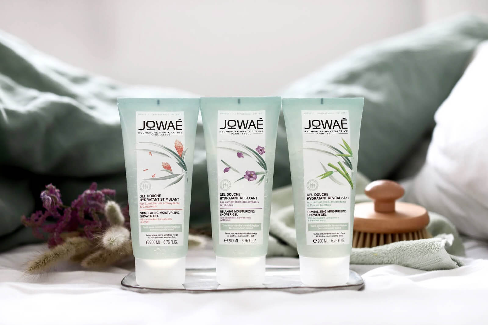Jowae Gel Douche composition