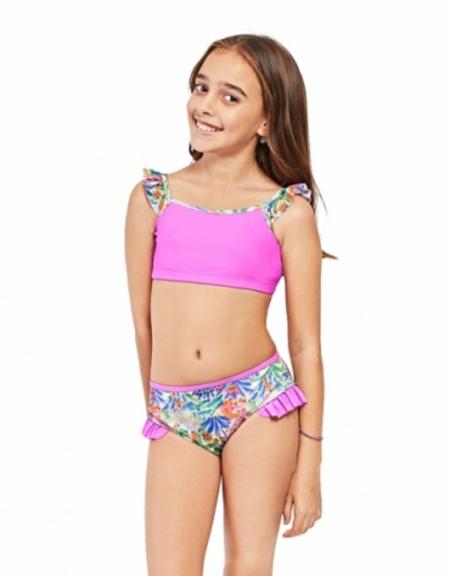 Moda en bikinis para niñas verano 2018.