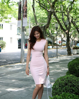 Lee Hee Eun desainer seksi yang jualan dress dari korea selatan online