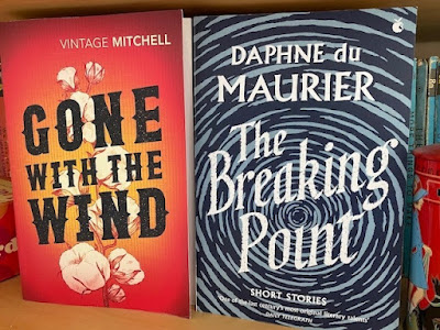 Gone With The Wind and The Breaking Point paperback books