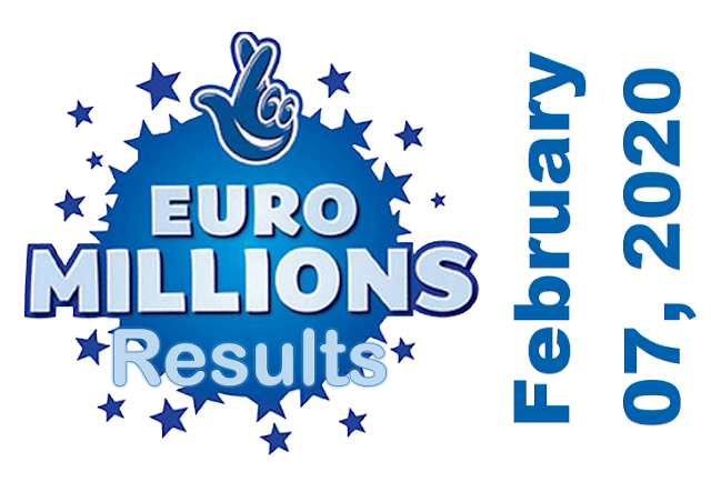 EuroMillions Results for Friday, February 07, 2020