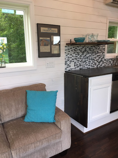 8 Staycation Worthy Tiny Homes For Sale: TINY HOUSE TOWN: Luxurious Tiny House In Tennessee (280 Sq Ft
