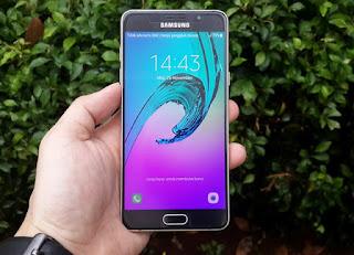 Hape Seken Samsung Galaxy A5 2016 Mulus Fullset Eks Garansi Samsung Indonesia