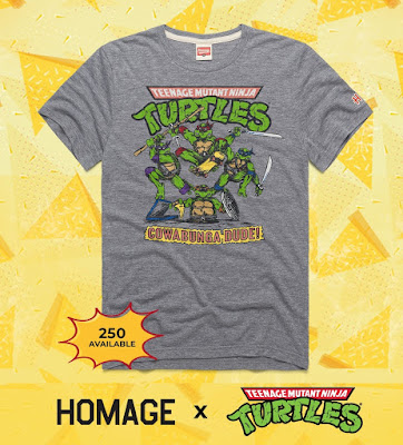 "Teenage Mutant Ninja Turtles ""Cowabunga!"" T-Shirt by HOMAGE"