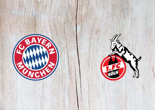 Bayern München vs Köln -Highlights 21 September 2019
