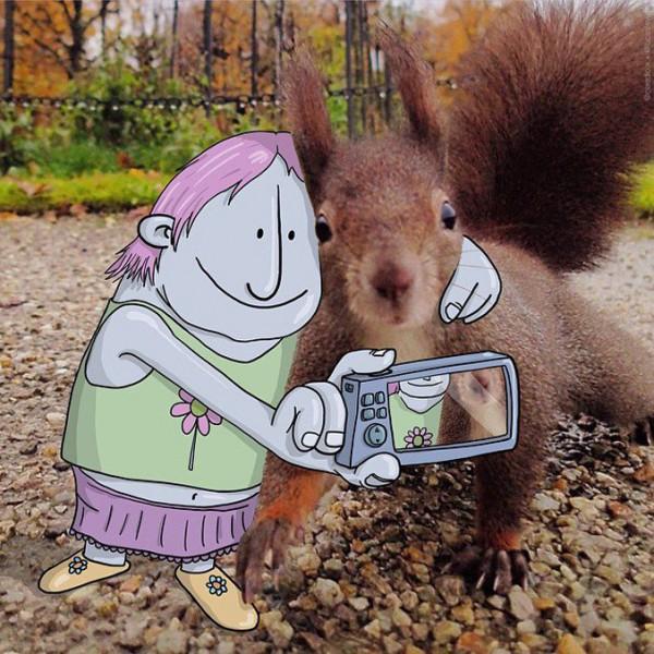 20 Illustraciones divertidas para inspirarse | Foto Invasión