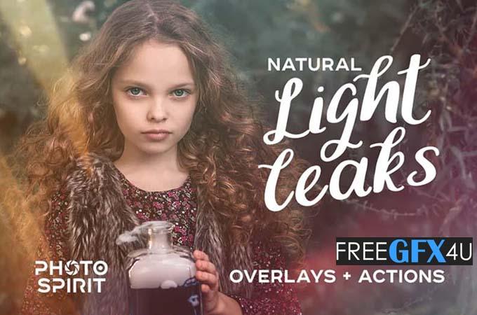 99 Natural Light Leaks Overlays
