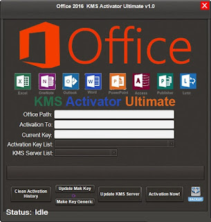 KMS Activator Ultimate portable version | crack office 2016