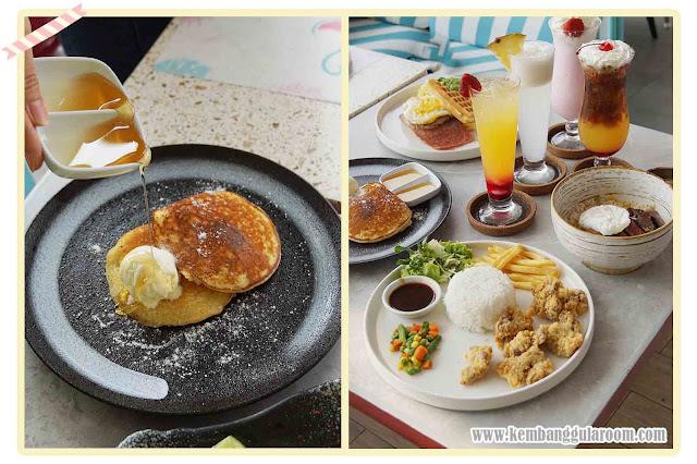 level six cafe bandung pancake