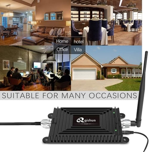 Qishun Home 4G Phone Signal Repeater Booster