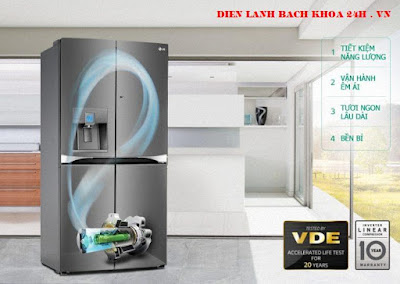 tủ lạnh công nghệ inverter