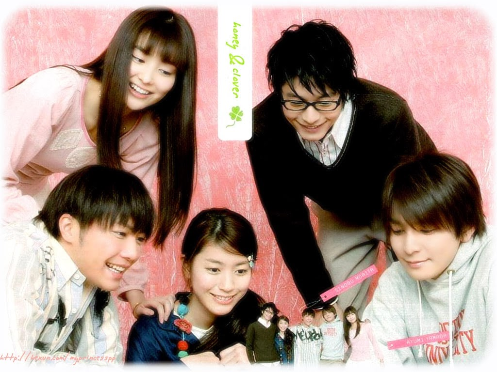 Anime, Movie dan Drama Honey And Clover