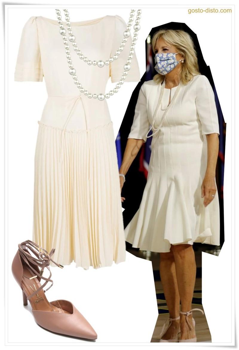 Looks de Jill Biden para mulheres maduras