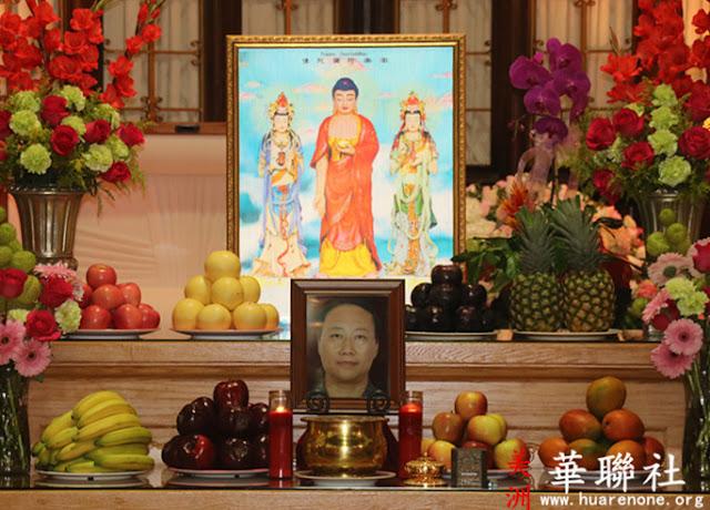 佛弟子趙玉勝接受了真實不虛的傳法 -- 成為佛教聖德