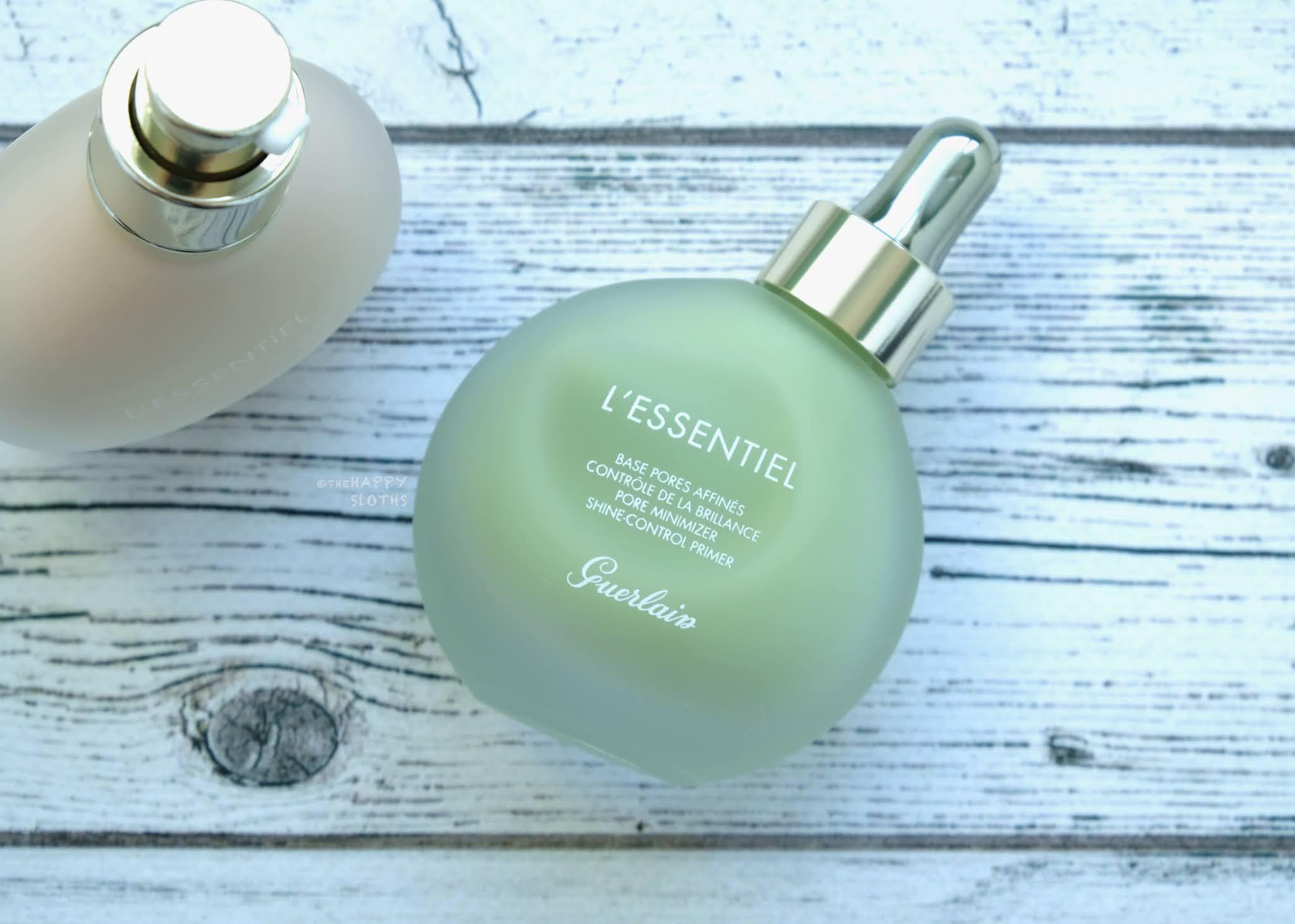 Guerlain | L'Essentiel Pore Minimizer Shine Control Primer: Review and Swatches