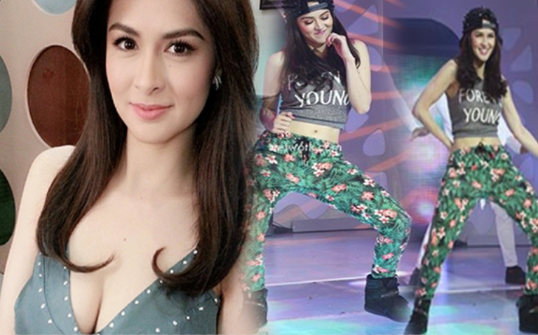 trumpet dance challenge of Marian Rivera