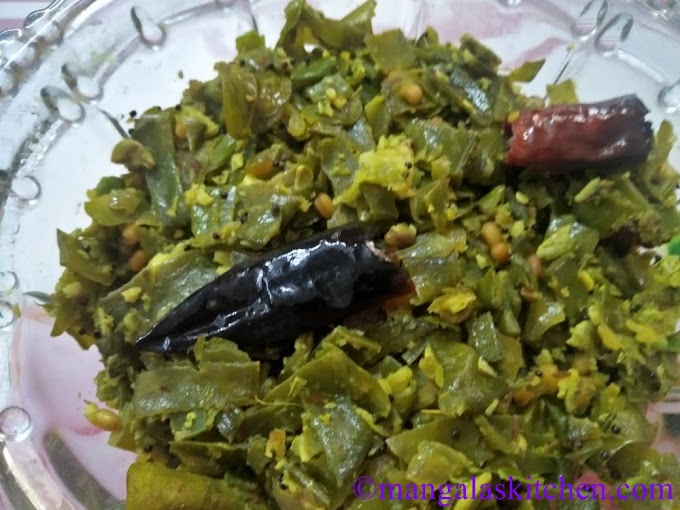 Chettinad Avarakkai Poriyal | Broad beans Curry with Coconut Masala
