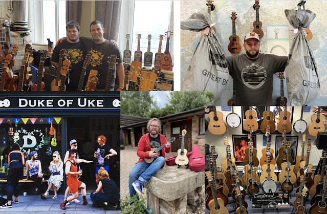 ukulele stores