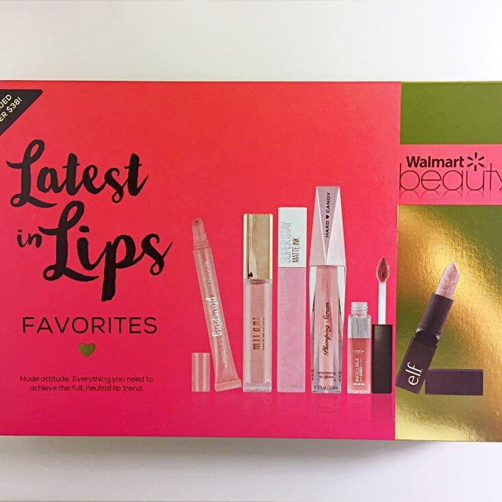 Walmart Beauty Favorites Box Latest in Lips