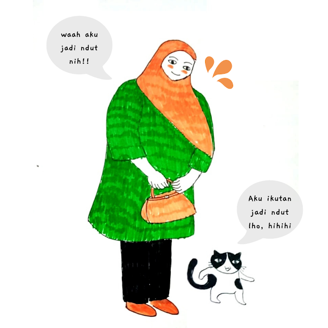 menjadi gemuk