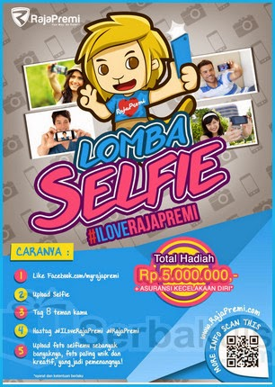 Lomba Selfie I Love Raja Premi