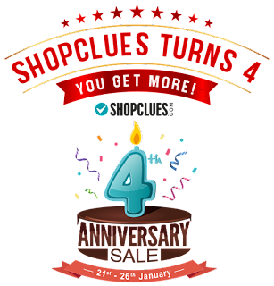 The shopclues.com will offer all products at 1/4 price. So Keep yourself ready for the Big Shopclues Sale Event, which starting on 21st Jan 2016