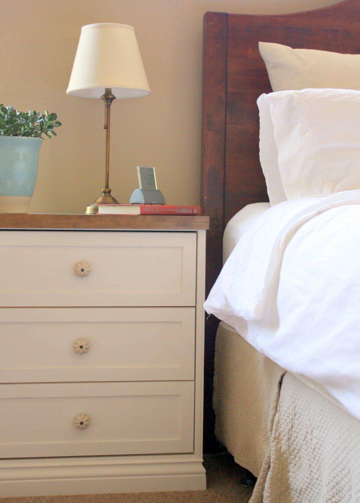Bedside Tables A Rast Hack Get Home Decorating