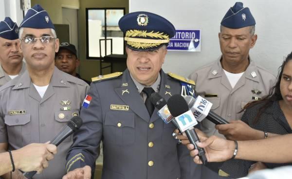 Director de la Policia Nacional dice no coge presion de nadie
