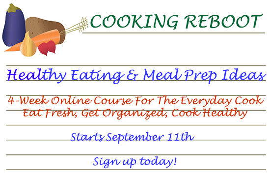 This course will teach you how to be a healthy home cook.
