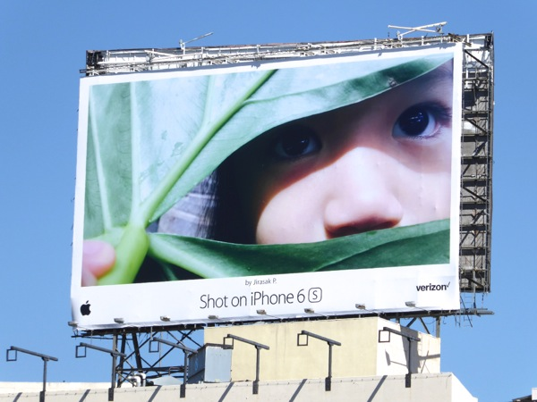 Shot on iPhone 6s Jirasak P billboard