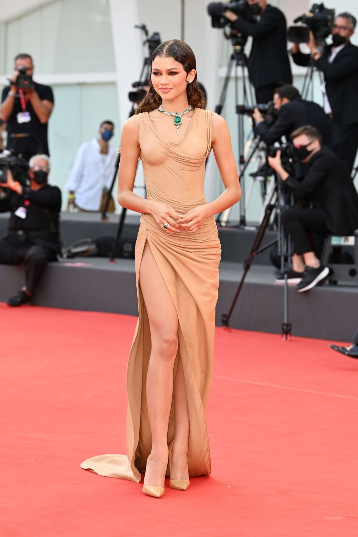 ZENDAYA at Dune Premiere at 78th Venice International Film Festival