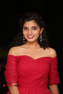 Actress Bindu Pictures in Red Dress at Attarillu Movie Press Meet 0005.JPG