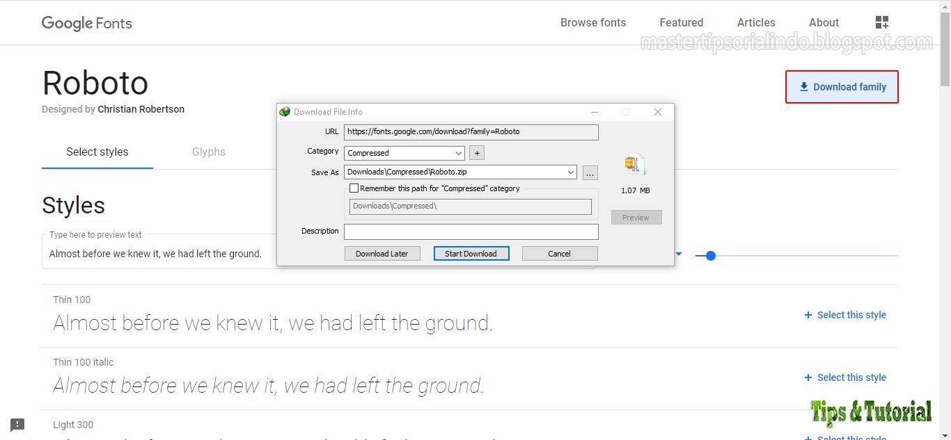 Download Cara Menggunakan Font Roboto di Windows, Mac dan Linux ...