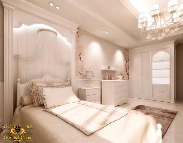 غرف نوم مودرن بالتسريحة